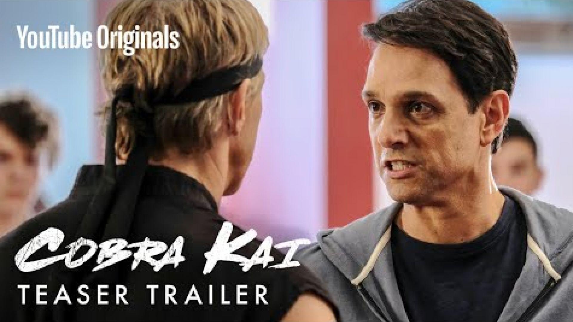 First Look 'Cobra Kai' Season Teaser