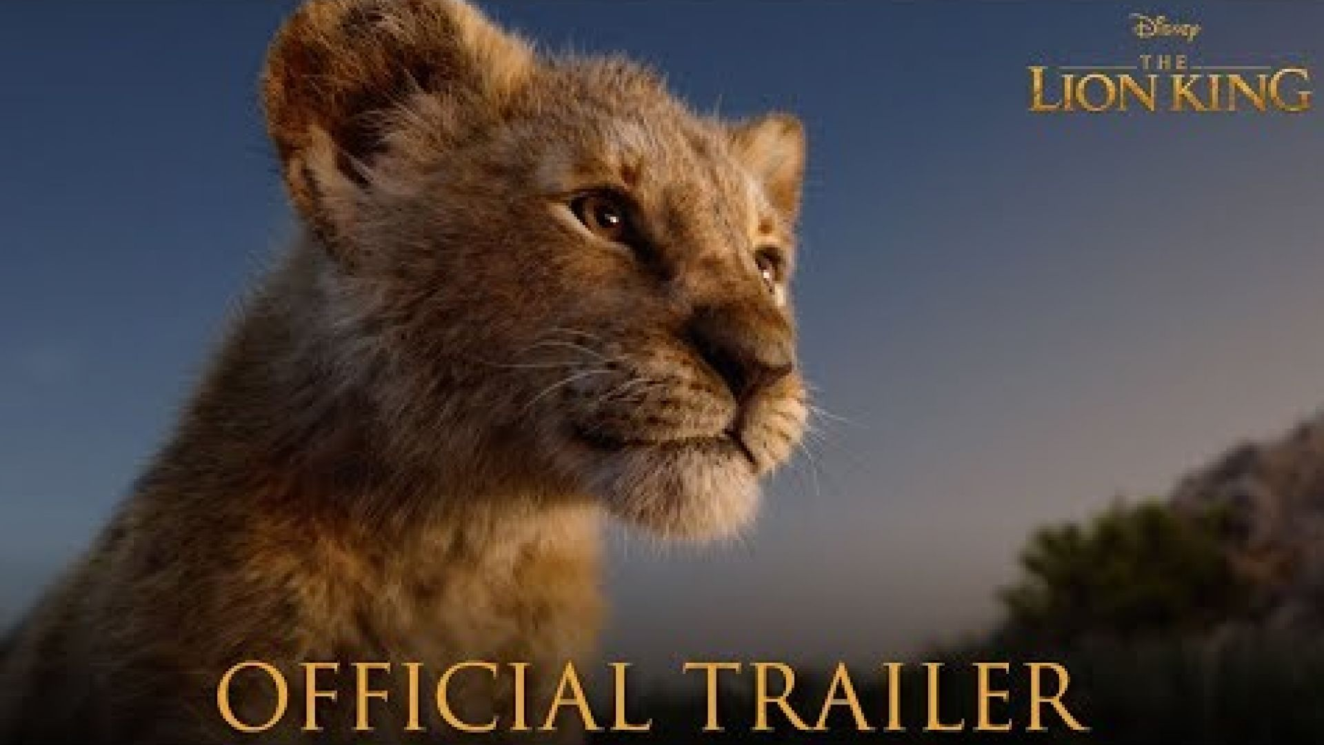 'The Lion King' Trailer in theaters July 19, 2019
