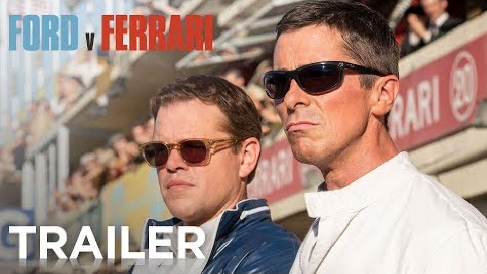 'Ford V Ferrari' Trailer 20th Century Fox