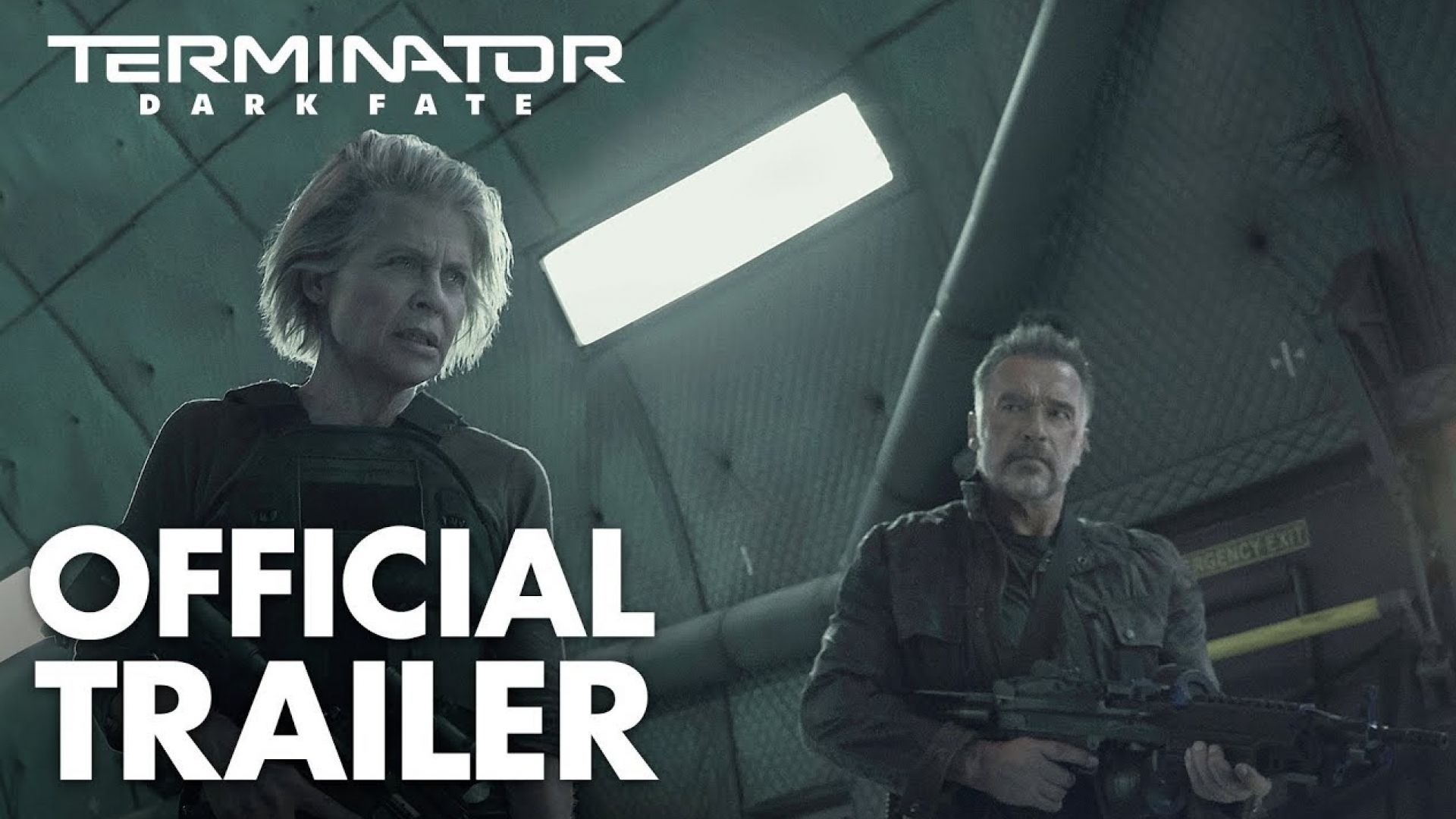 Terminator: Dark Fate official trailer | In theaters Novembe