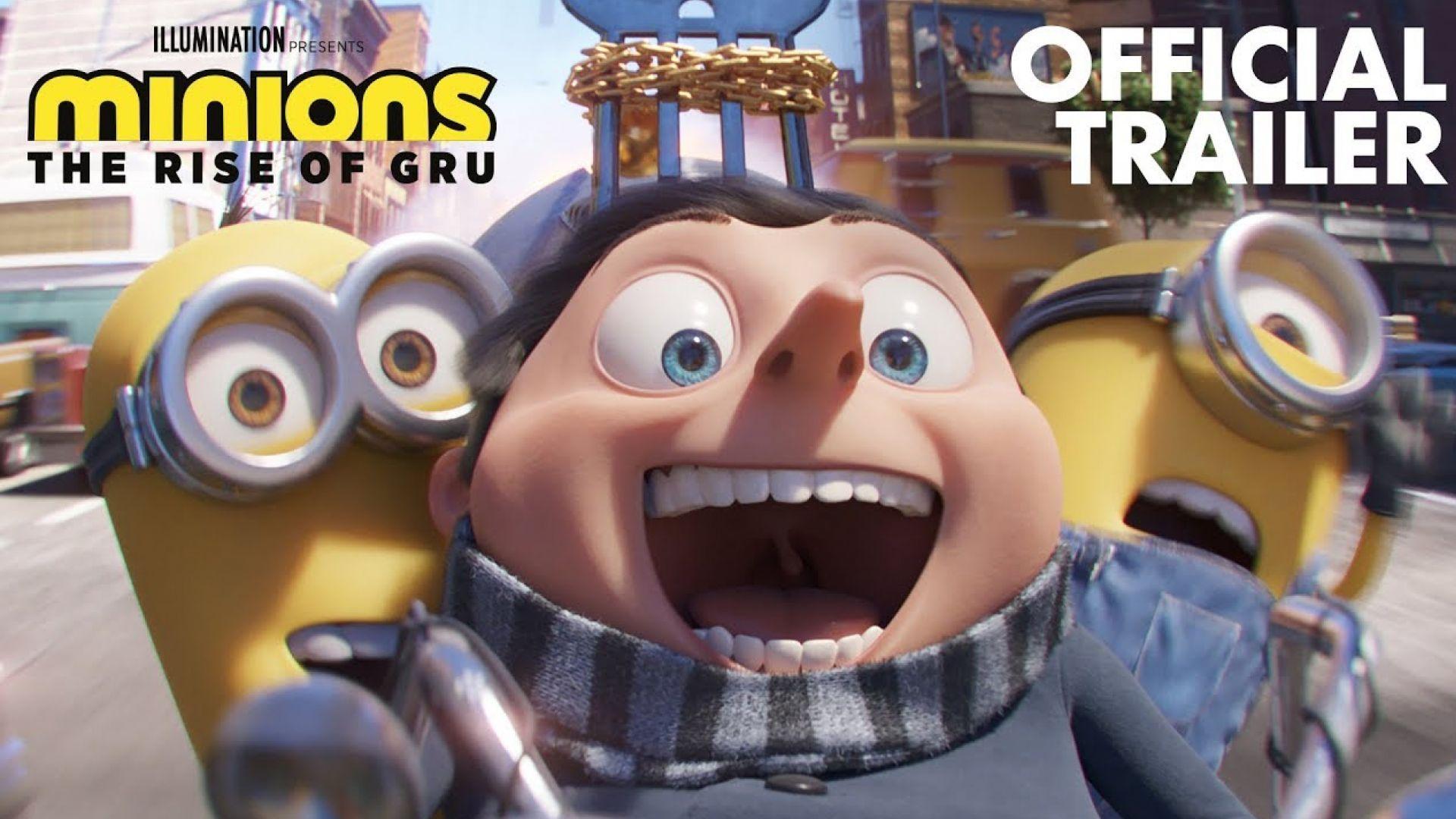 Minions: The Rise of Gru - Full Trailer