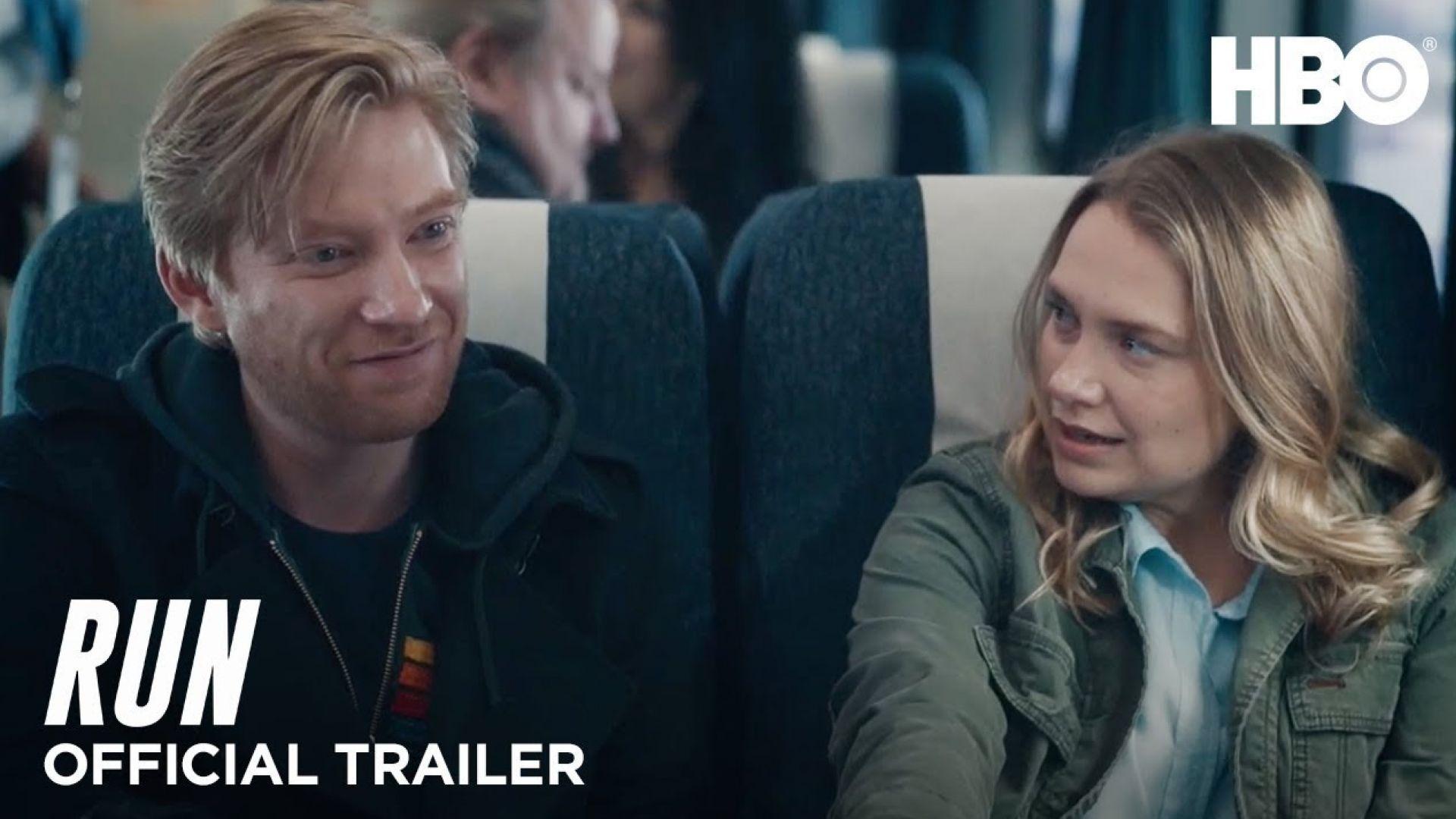 'Run' trailer with Domhnall Gleeson and Merritt Wever (HBO)