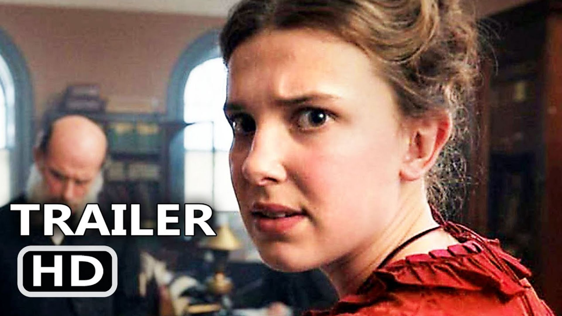 'Enola Holmes' teaser with Millie Bobby Brown and Henry Cavi