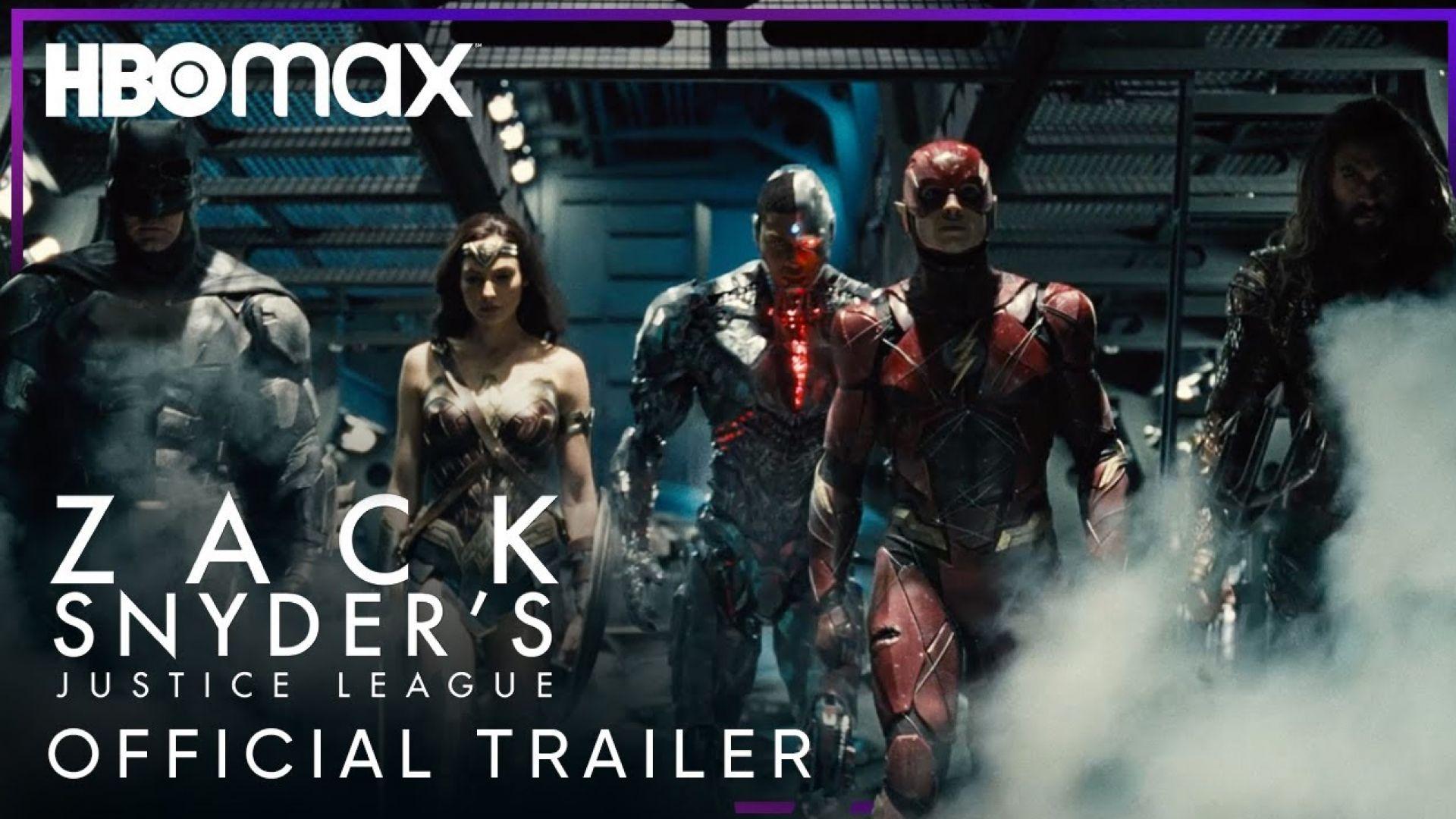 'Justice League: Snyder Cut' Official Trailer