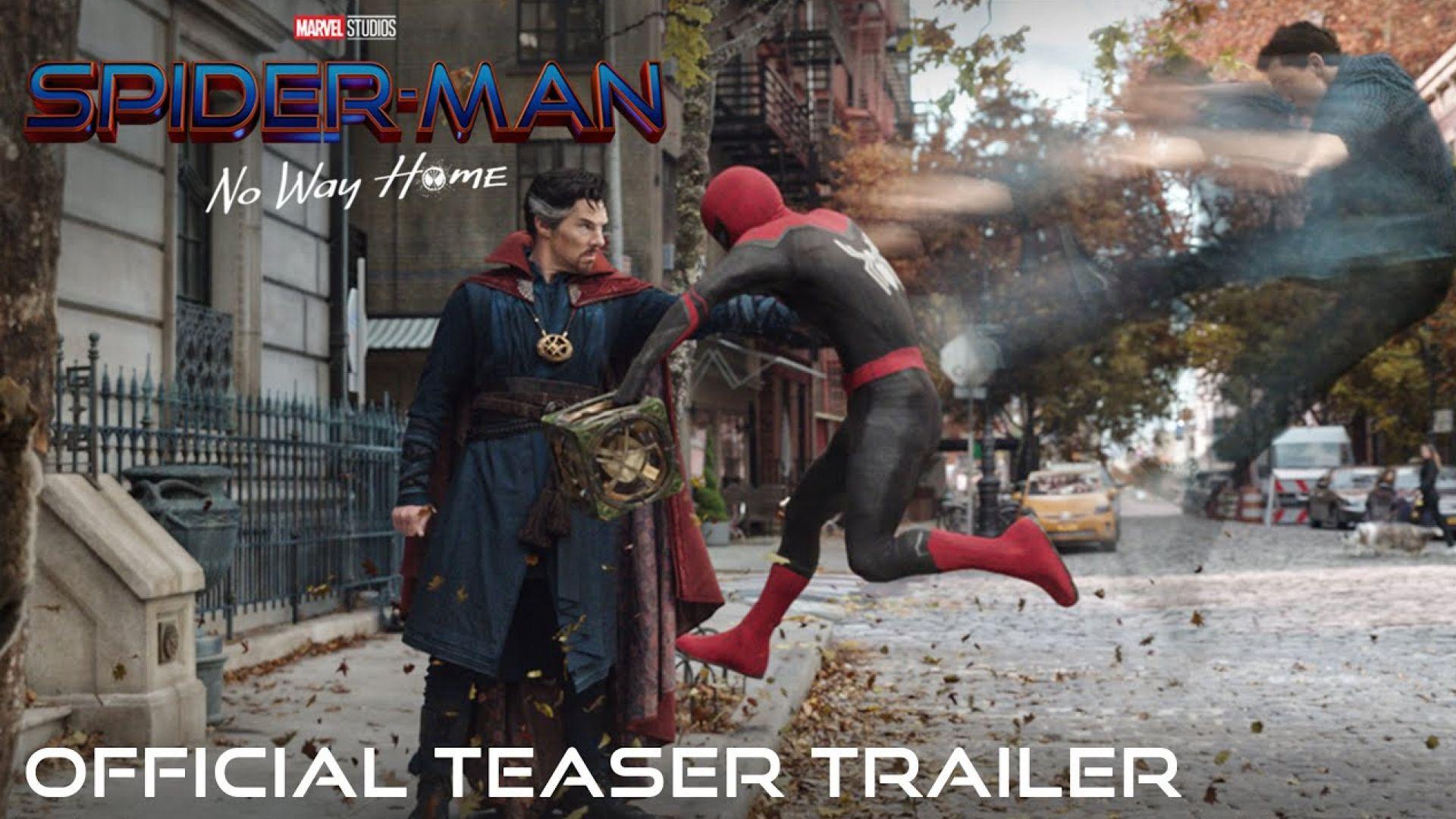 'Spider-Man: No Way Home' Teaser