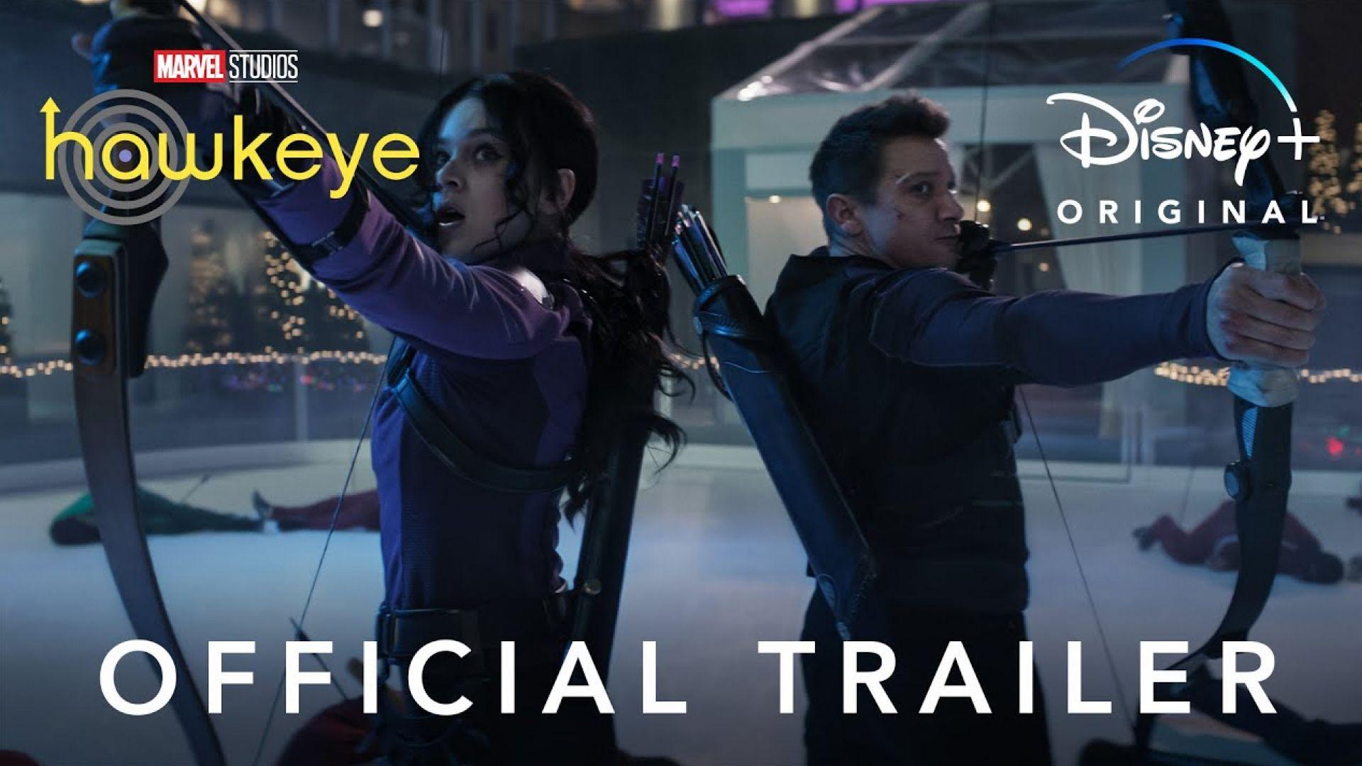 'Hawkeye' Official Trailer