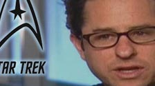 J.J. Abrams and cast on Star Trek