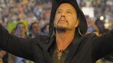 Rourke at WrestleMania