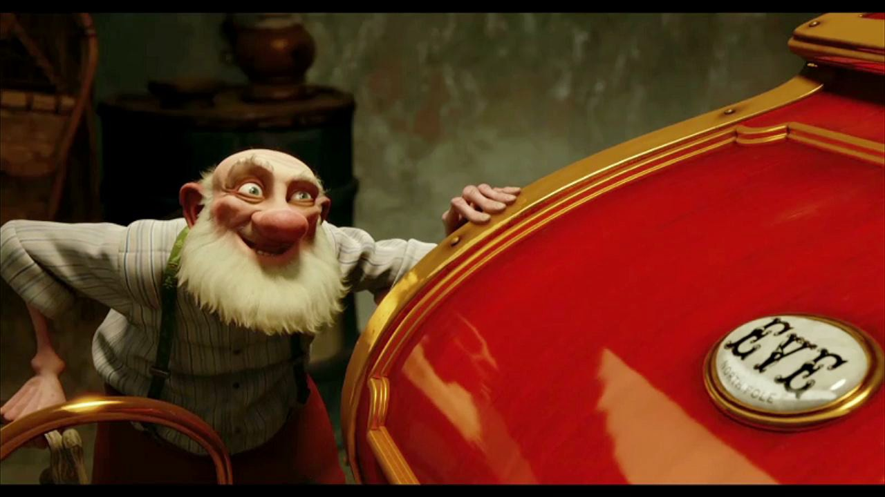Santa S Sleigh In Arthur Christmas Cultjer