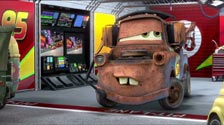Cars 2: Mater won't get out of the pits