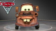 Mater on the Turntable in Cars 2