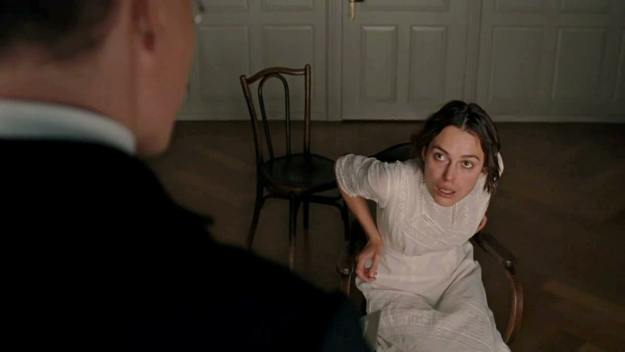 Keira knightley a dangerous method