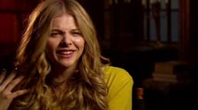Chloe Grace Moretz on her hippie character and working with Johnny Depp on Dark Shadows