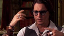 Johnny Depp talks about the seventies and how absurd it was. Dark Shadows