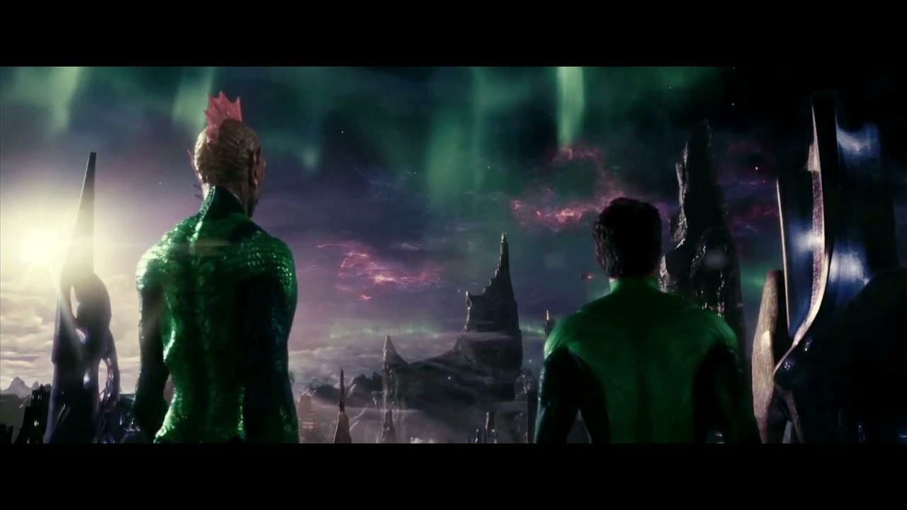a war has been raging, green lantern HD