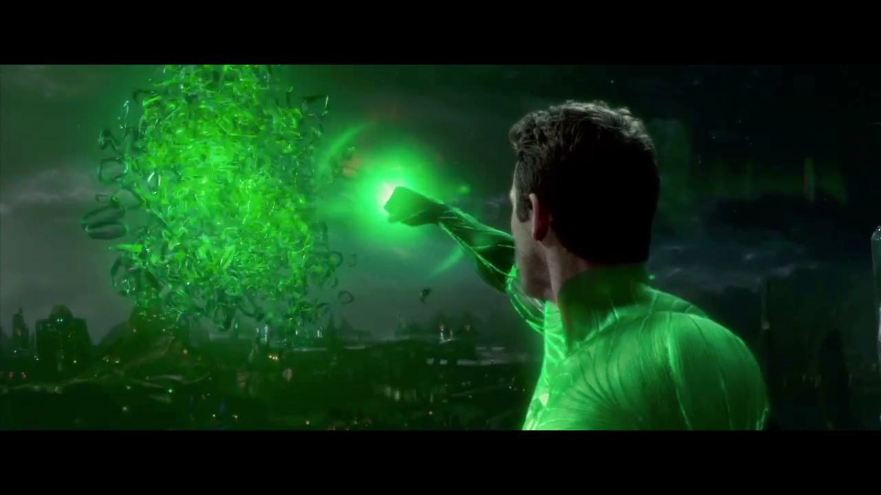 the green lantern can create anything HD