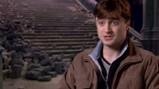 Daniel Radcliffe on the kiss in the last Harry Potter