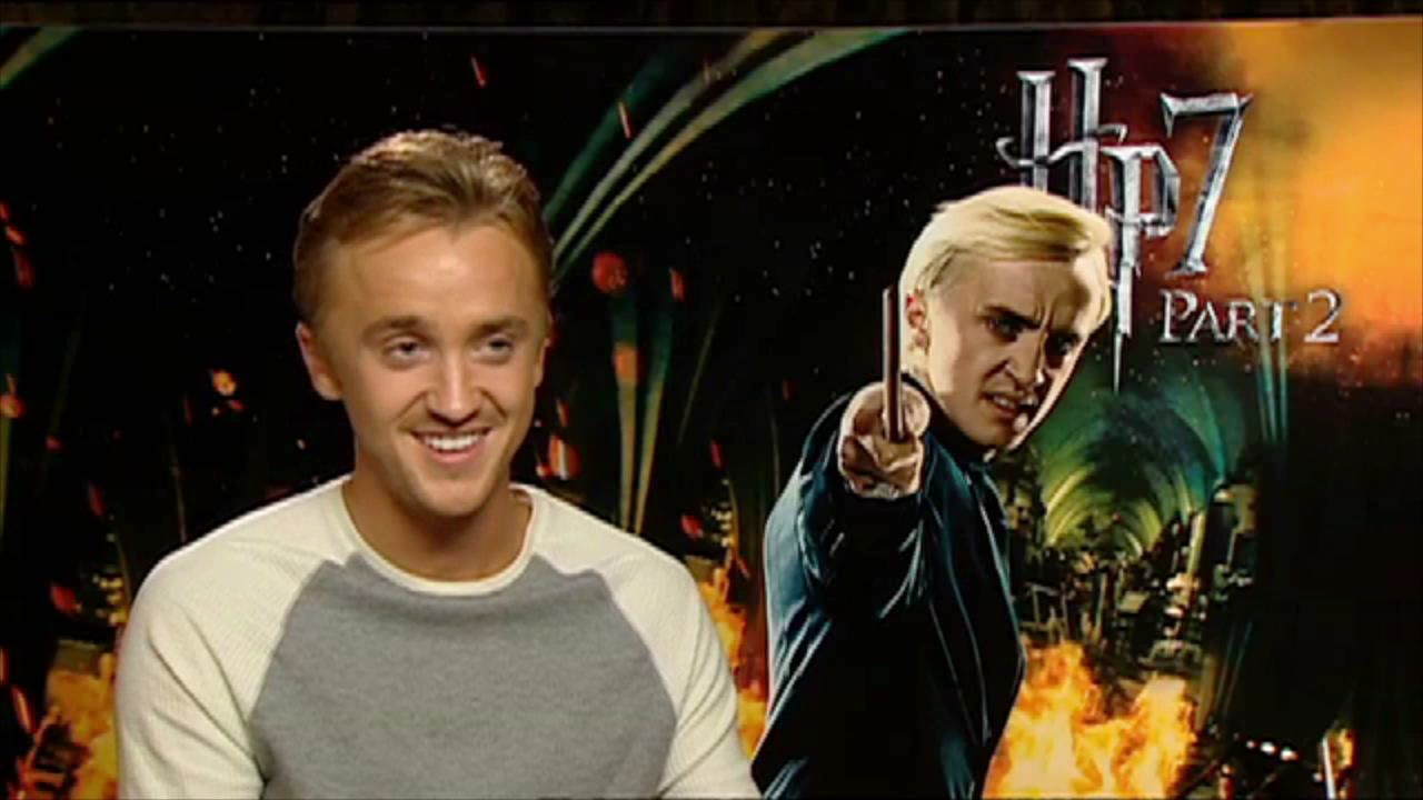 Tom felton talks about playing draco malfoy in harry potter 7 part 2 cultjer