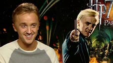 Tom Felton talks about playing Draco Malfoy in Harry Potter 7 Part 2
