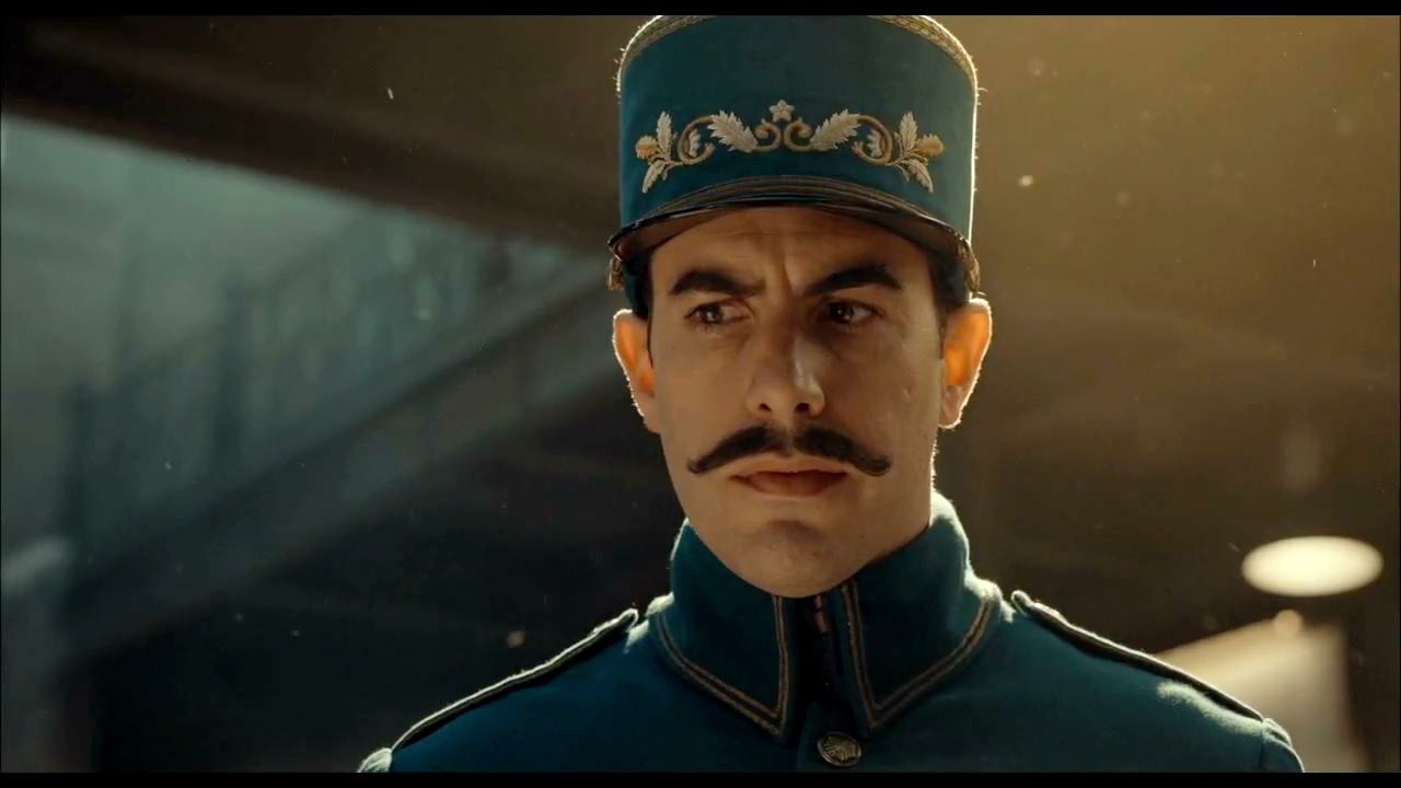 sacha baron cohen as the station inspector HD