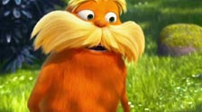 The Lorax playing poker