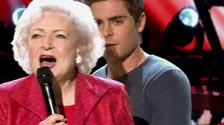 Betty White sings Let's Get it On on The Voice