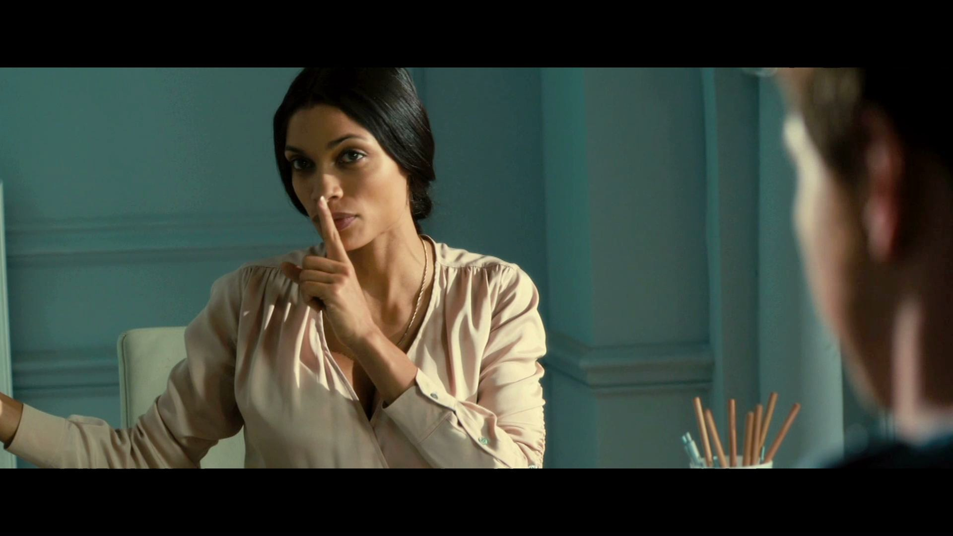 Rosario Dawson Trance Rosario Dawson pretends to