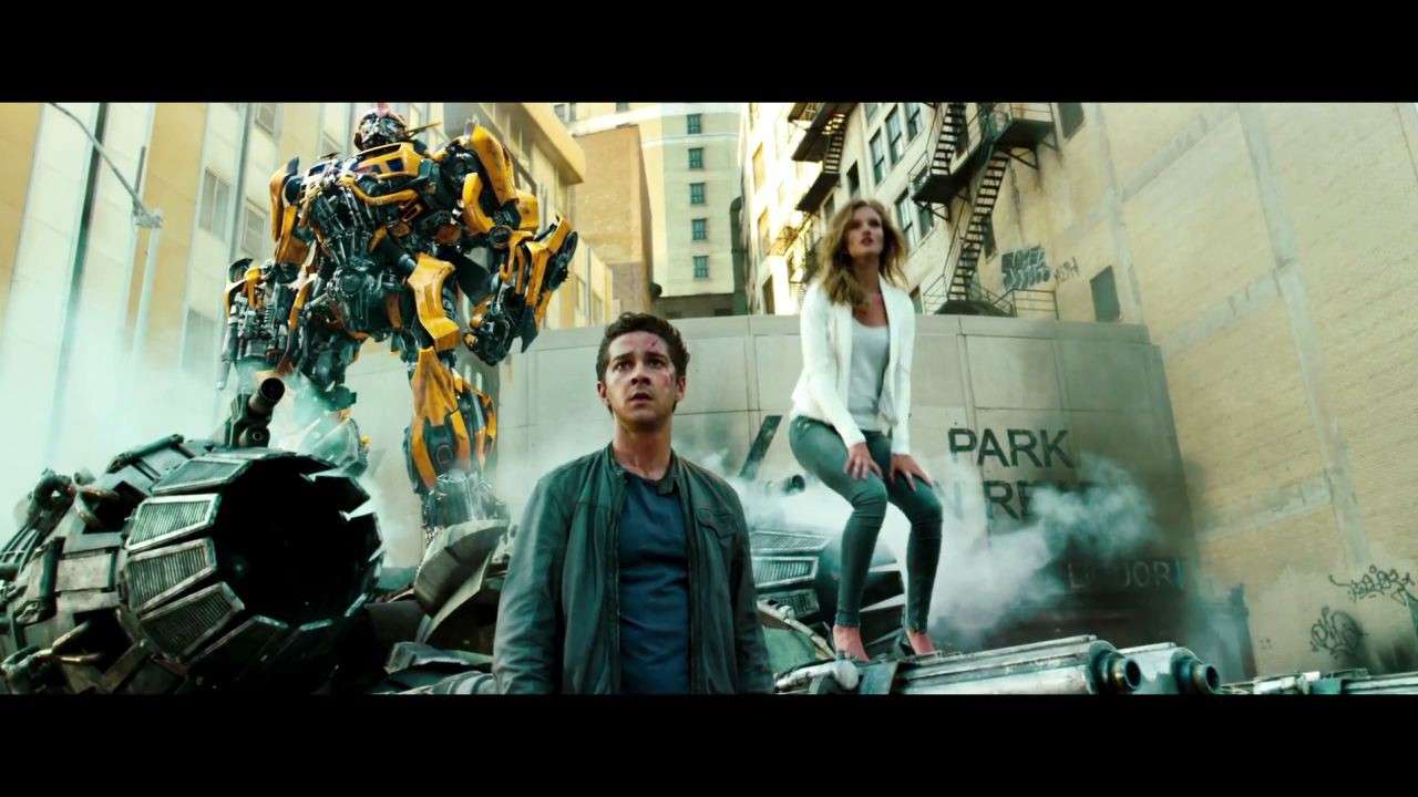 linkin park - transformers 3: dark of the moon music video HD