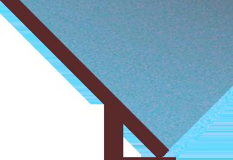corner triangle opaque